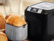 Пухкав памук хляб в хлебопекарна (със суха мая)